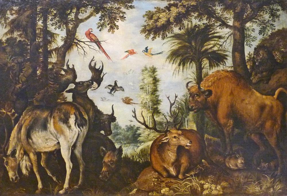 roeland_savery-paysage_de_foret_avec_animaux